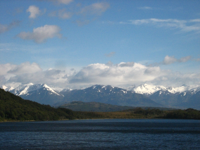 View of Patagonia from the Navimag