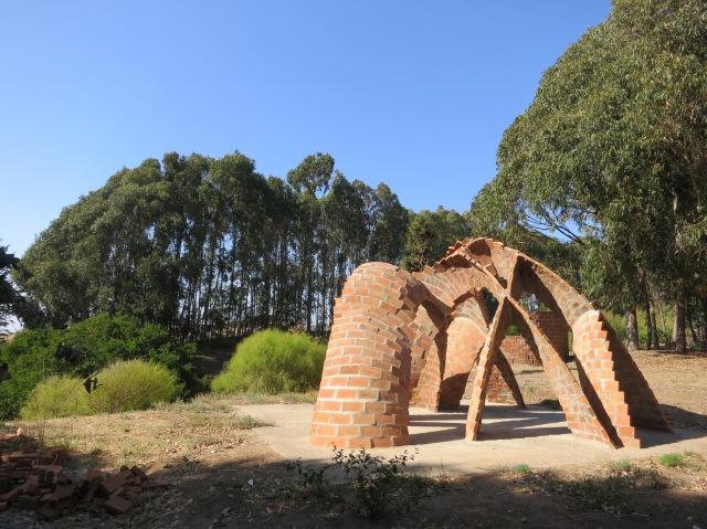 Sculpture near Megaterio-1
