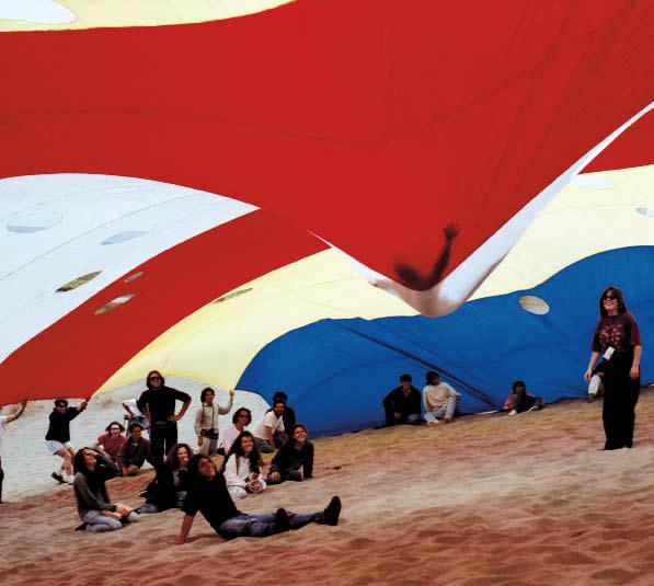 """Membrana Aerofuselada, 1992. Ciudad Abierta. From: Manuel Casanueva Carrasco, """"Libro de Torneos"""" ( Valparaíso: e[ad] Ediciones, 2009)."""