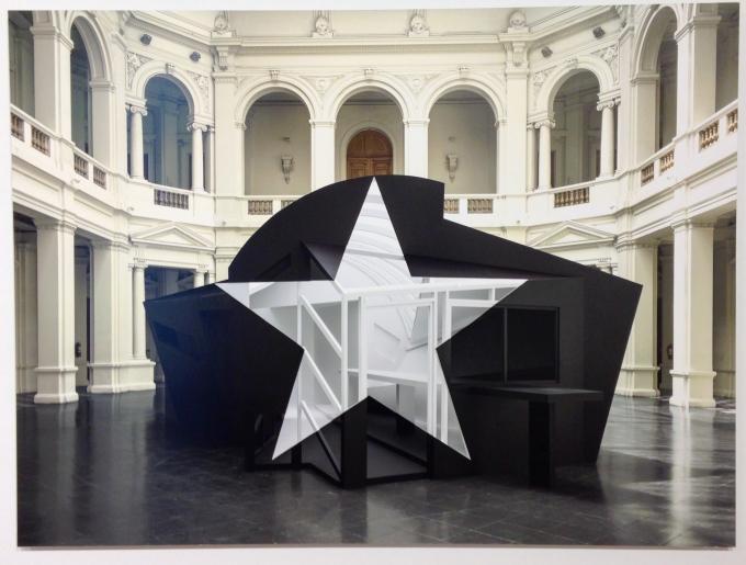 Georges Rousse, Santiago de Chile, 2013, Inkjet on Paper, 110 x 130 cm