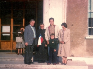 Bravo Family in Rome (October 1980)