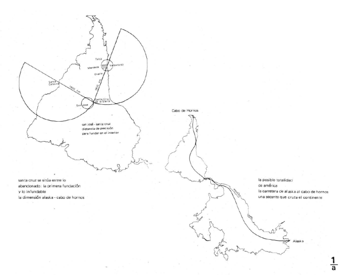 1991, Amereida, Travesías 1984 a 1988