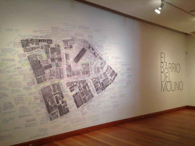 Paula Salas, El Barrio del Molino, MAVI Santiago. November 2014.