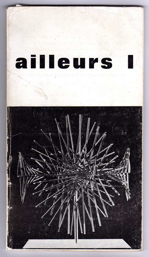 Ailleurs 1 (1963), cover.
